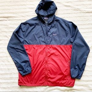 PATAGONIA Red Navy Lightweight Jacket Sz XL